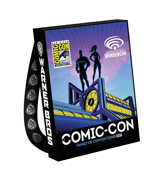 SDCC 2017: Warner Bros reveals 2017 WBTV Comic-Con bag designs