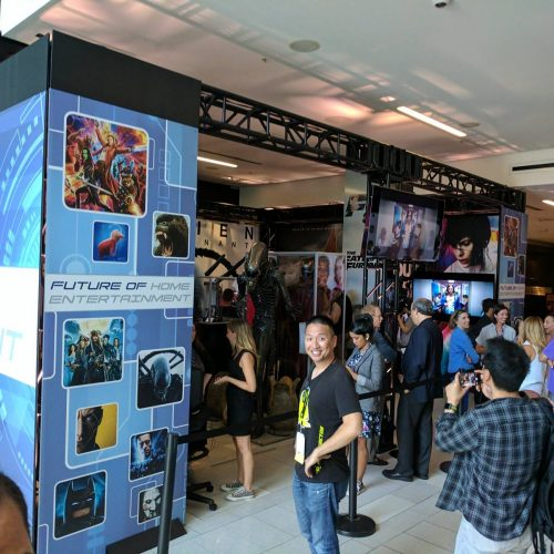 SDCC 2017: Future of Home Entertainment showcases VR, 4K, props
