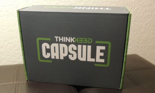 ThinkGeek Capsule Box #2 review – 'What's in the box?!'
