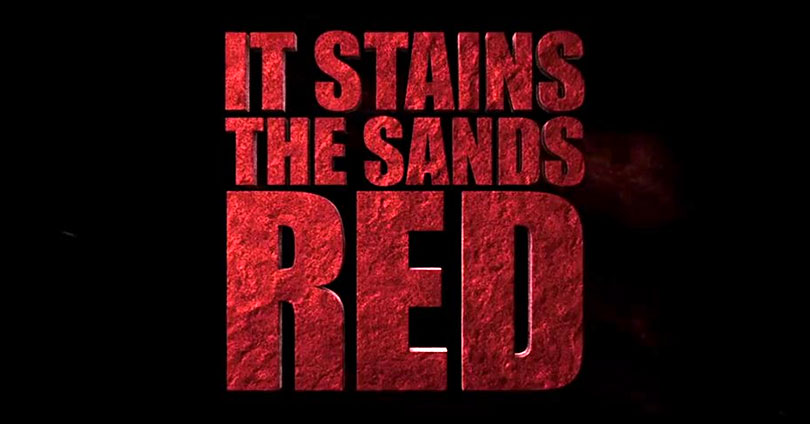 It Stains the Sands Red - Title Logo
