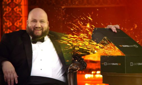 Dark Ages turned '90s sitcom: Stephen Kramer Glickman on Loot Crate video