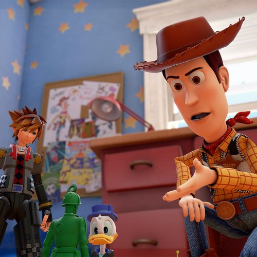 Kingdom Hearts 3 coming in 2018, Toy Story World revealed