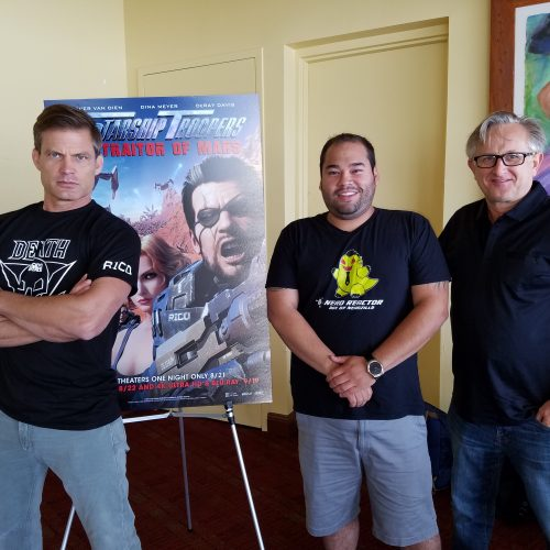 Casper Van Dien and filmmakers on Starship Troopers: Traitor of Mars