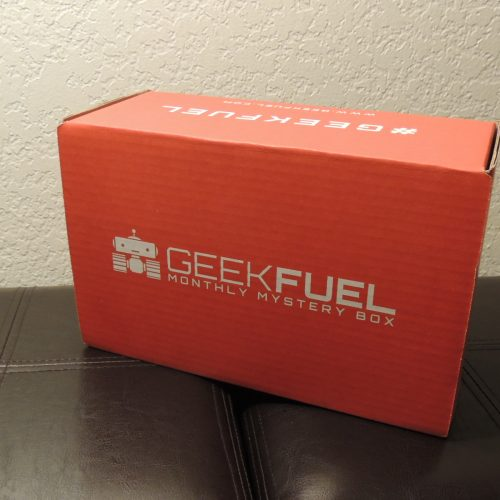 Geek Fuel's Monthly Mystery Box: July 2017 review 'Geeky Goodness'