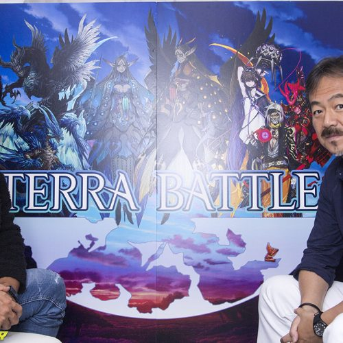 Hironobu Sakaguchi and Kimihiko Fujisaka talk Terra Battle and games