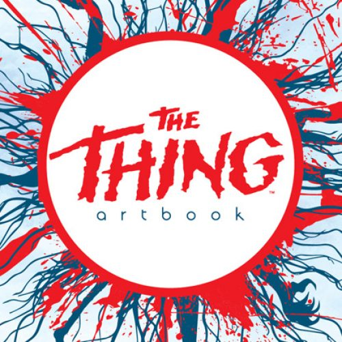 The Thing art book features artists David Mack, Tim Bradstreet, Cat Staggs, Dave Crosland