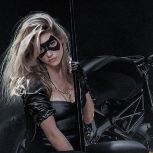 Is Katheryn Winnick teasing Black Canary announcement at SDCC 2017?