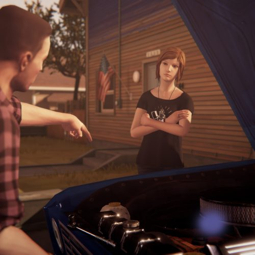 Chloe and David 'bond' in Life Is Strange: Before the Storm gameplay video