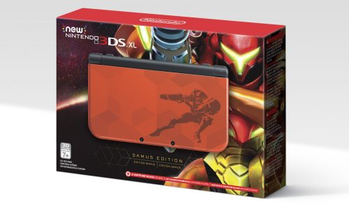 New Nintendo 3DS XL Samus Edition coming next month