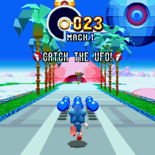 Sonic Mania's Blue Sphere, special stages, time attack modes (hands-on)