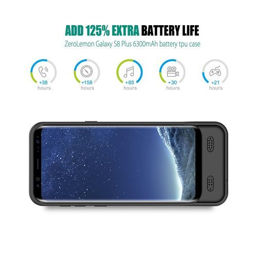 ZeroLemon 6300mAh Battery Case for Samsung Galaxy S8 review