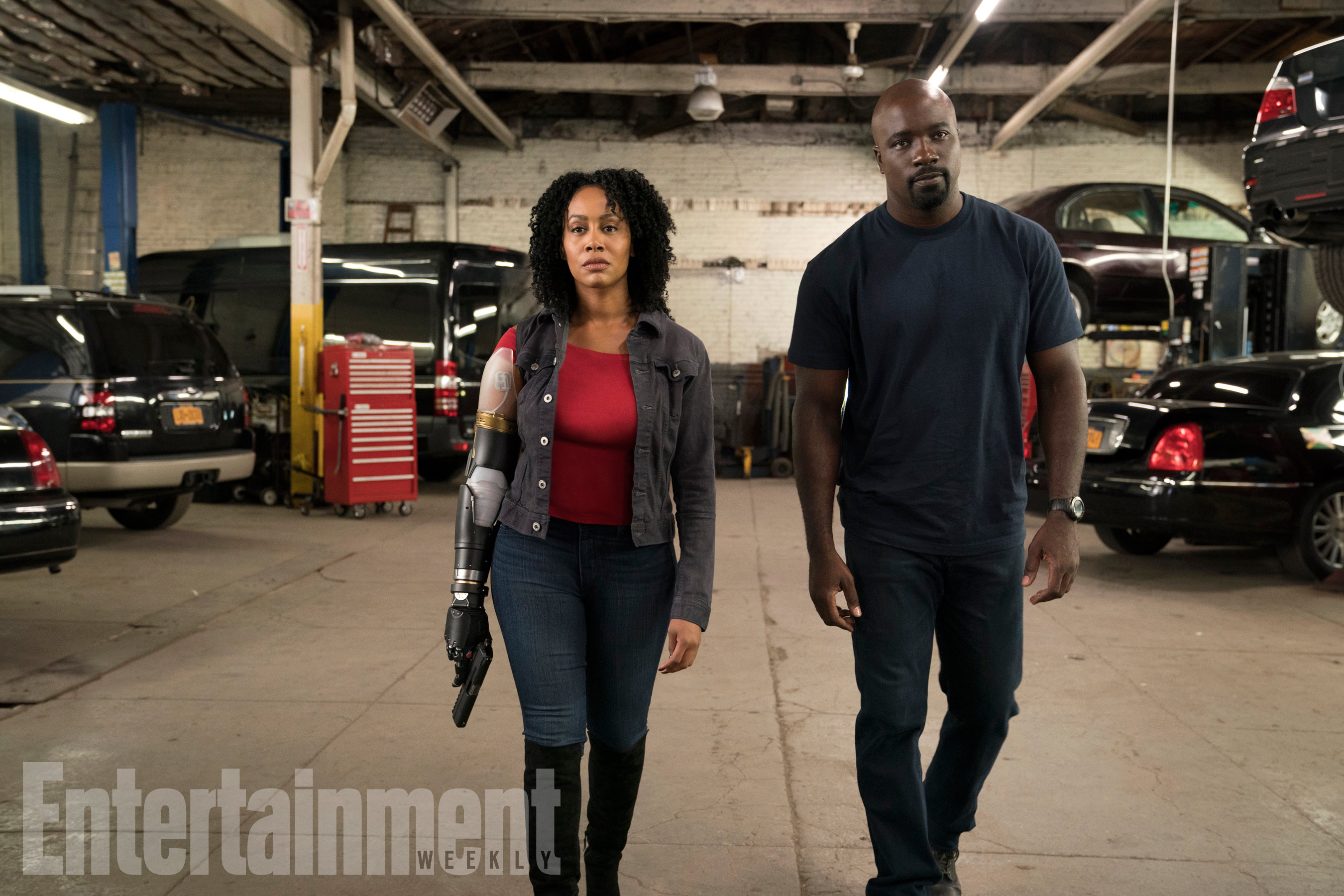 Luke Cage Season 2 - Simone Missick and Mike Colter