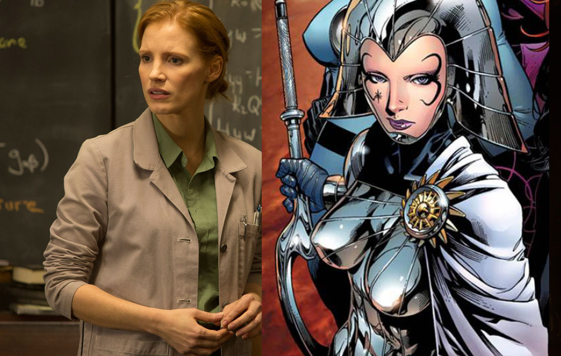x-men lilandra jessica chastain X-Men: Dark Phoenix