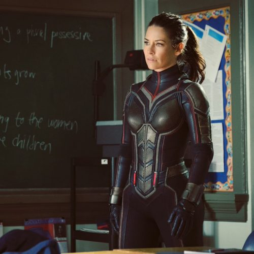Evangeline Lilly shares first photo in Wasp suit for 'Ant-Man and the Wasp'