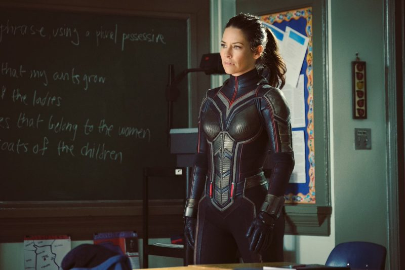 Evangeline Lilly shares first costume pic from Ant-Man and The Wasp
