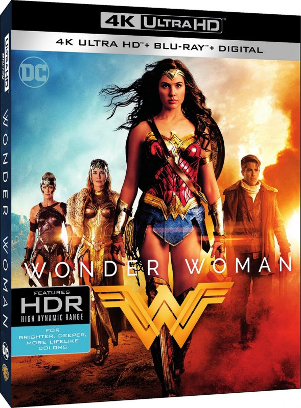 Wonder Woman Blu-ray - 4K Ultra HD Cover
