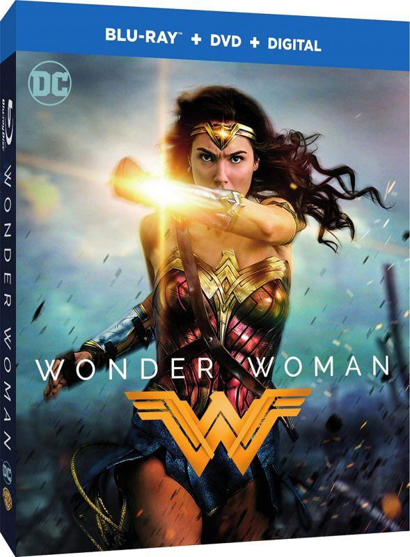 Wonder Woman Blu-ray - Cover