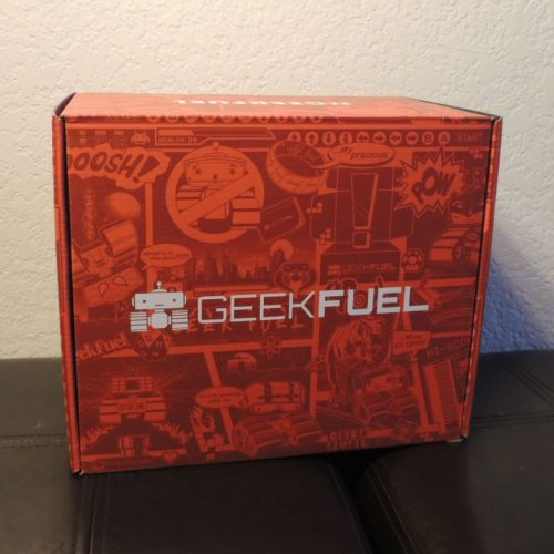 Geek Fuel's Monthly Mystery Box: August 2017 review – Geeky Goodness