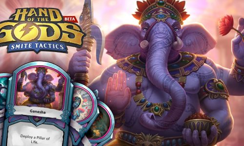SMITE 4.18 and Hand of the Gods updates, plus skin codes giveaway