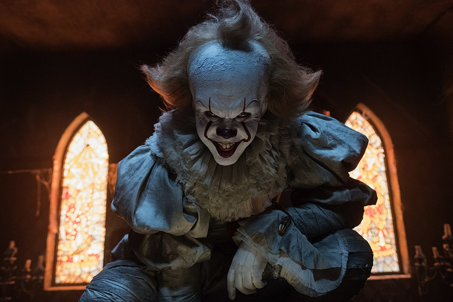 Pennywise: Creepy footage of clown on home's doorstep takes internet by frenzy