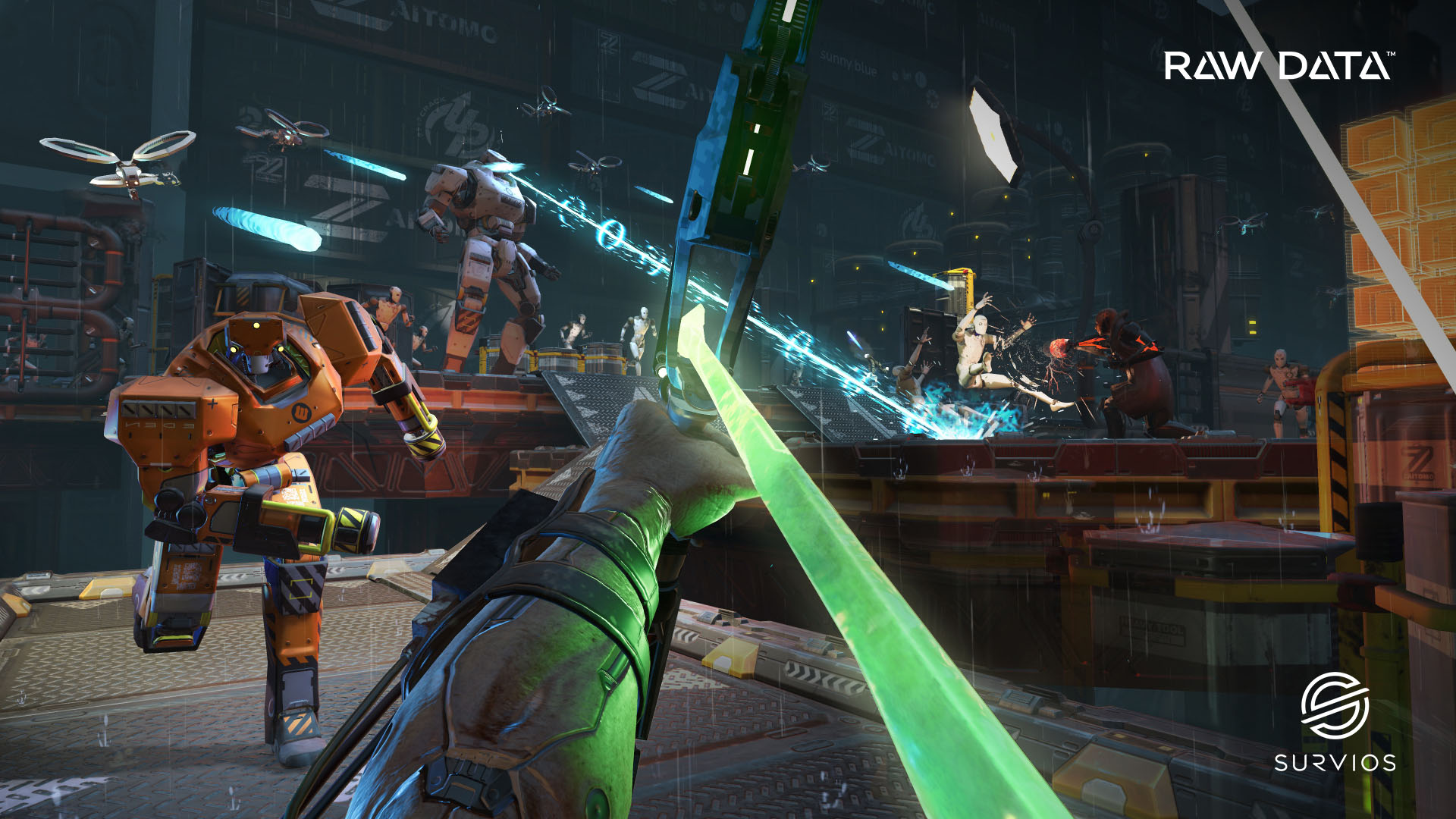 Survios' VR action game, Raw Data, is coming in October ...