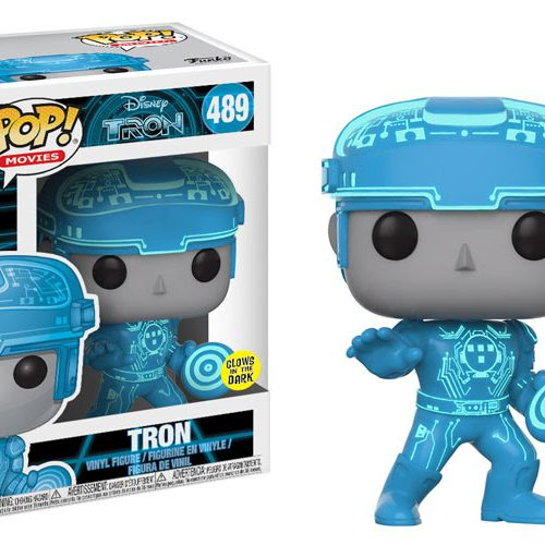 Tron enters the grid with Funko Pop! vinyl figures