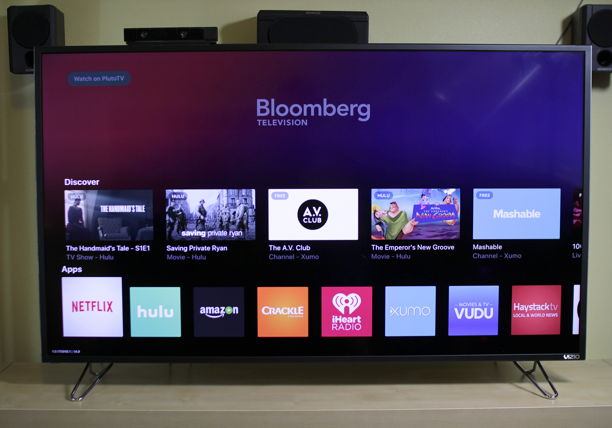 Viewing the Vizio M series XLED 2017 TV with 4K and HDR