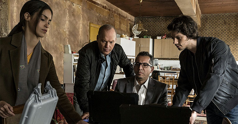 American Assassin - Shiva Negar, Michael Keaton, and Dylan O'Brien