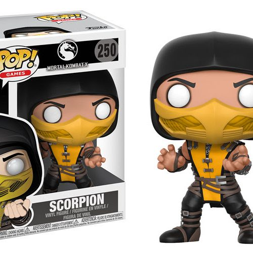 Mortal Kombat is getting Funko Pop! vinyl figures