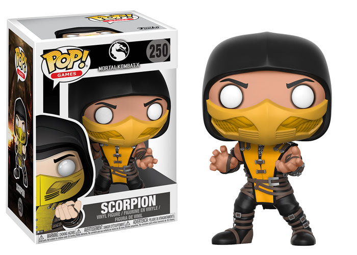 funko pop mortal kombat - scorpion