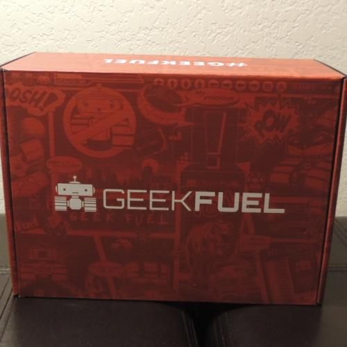 Geek Fuel's Monthly Mystery Box: September 2017 review – Geeky Goodness