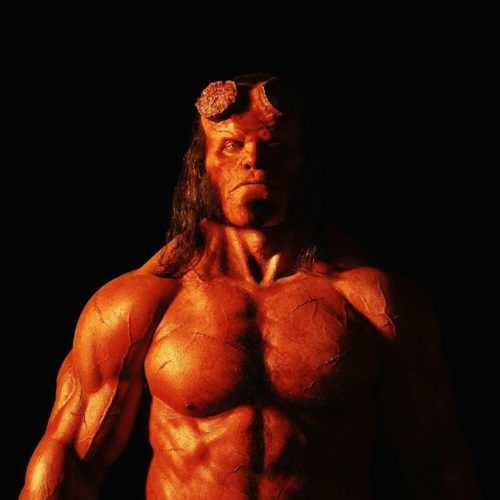 Check out the first look at David Harbour as the new Hellboy