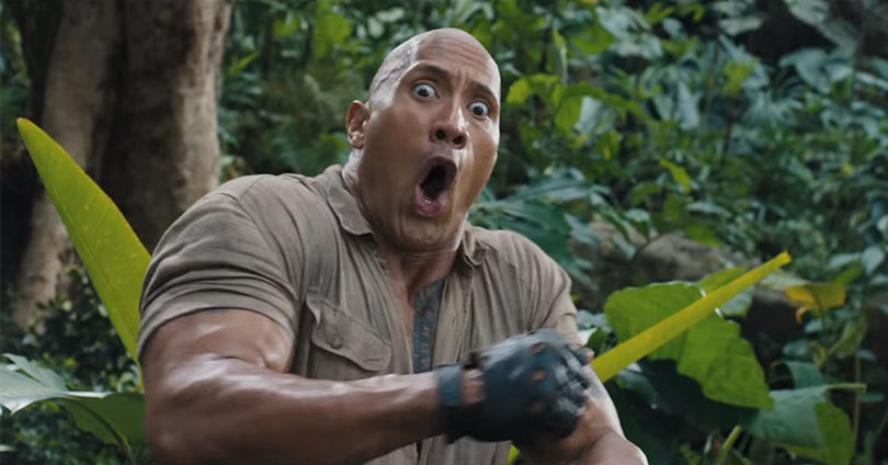 Jumanji: Welcome to the Jungle Trailer #2