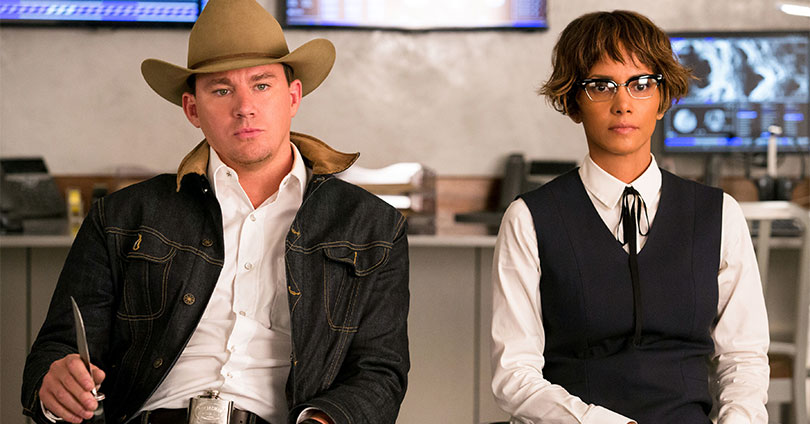 Kingsman: The Golden Circle - Channing Tatum and Halle Berry