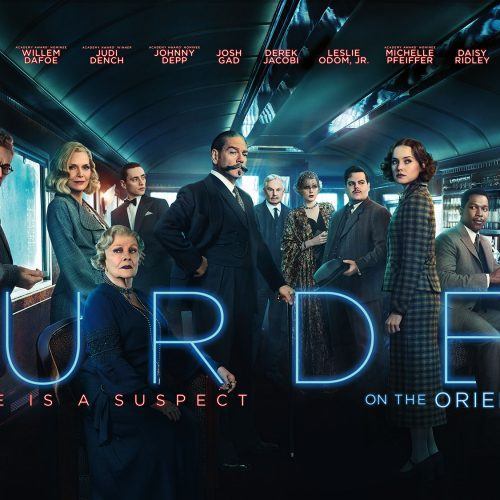 New Murder on the Orient Express poster has a hidden clue