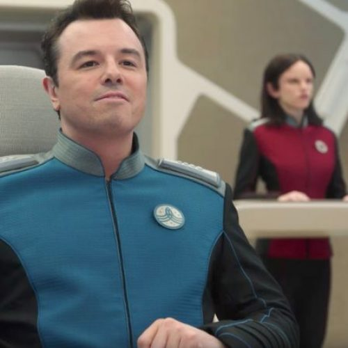 The Orville is a lighthearted homage to the Star Trek Universe