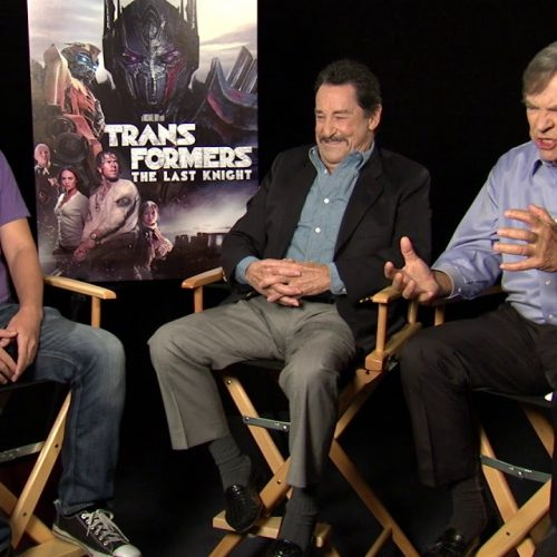 Peter Cullen and Frank Welker on Transformers' Optimus Prime and Megatron