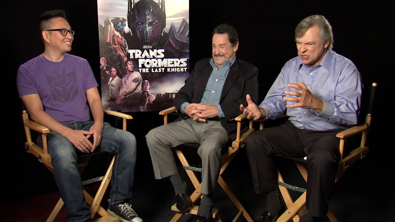 transformers last knight interview peter cullen frank welker