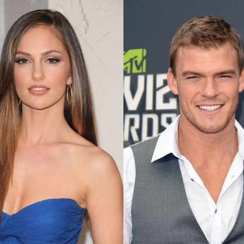 Info on Titans' Alan Ritchson and Minka Kelly as Hawk and Dove