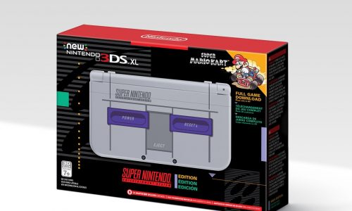 SNES-themed 3DS XL coming soon
