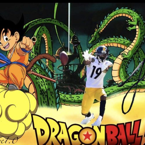 Steelers' JuJu Smith-Schuster channels his inner Goku in touchdown celebration