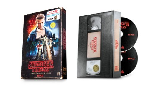 Target has a vintage Stranger Things VHS cover