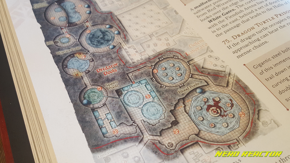 Review: Dungeon and Dragons - Tales from the Yawning Portal - Nerd on lost caverns of tsojcanth map, sinister secret of saltmarsh map, dragons of despair map, evil temple map, tomb dungeon map, village of hommlet map, red hand of doom map, expedition to the barrier peaks map, d&d tomb map,