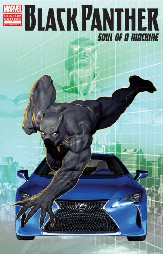 Lexus partners with Marvel's Black Panther on vehicles and ...
