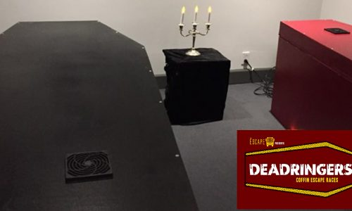 Deadringers: An escape room that traps you inside a coffin
