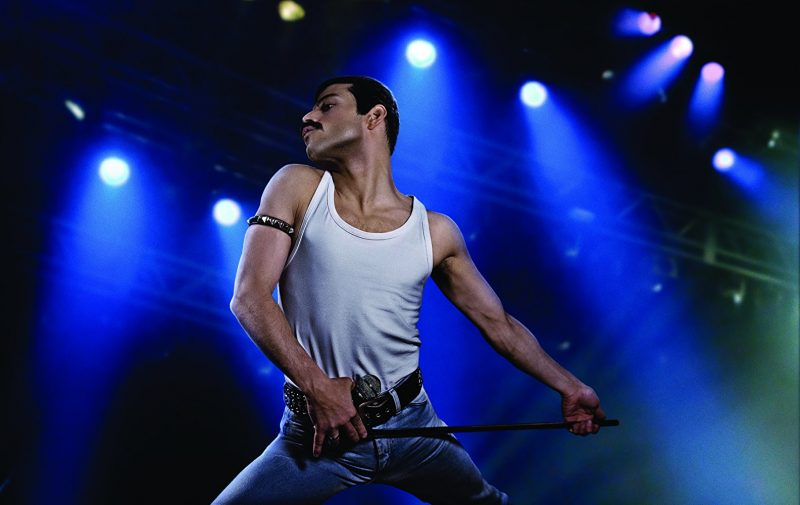 Rami Malek poses as Freddie Mercury in latest 'Bohemian Rhapsody' photo