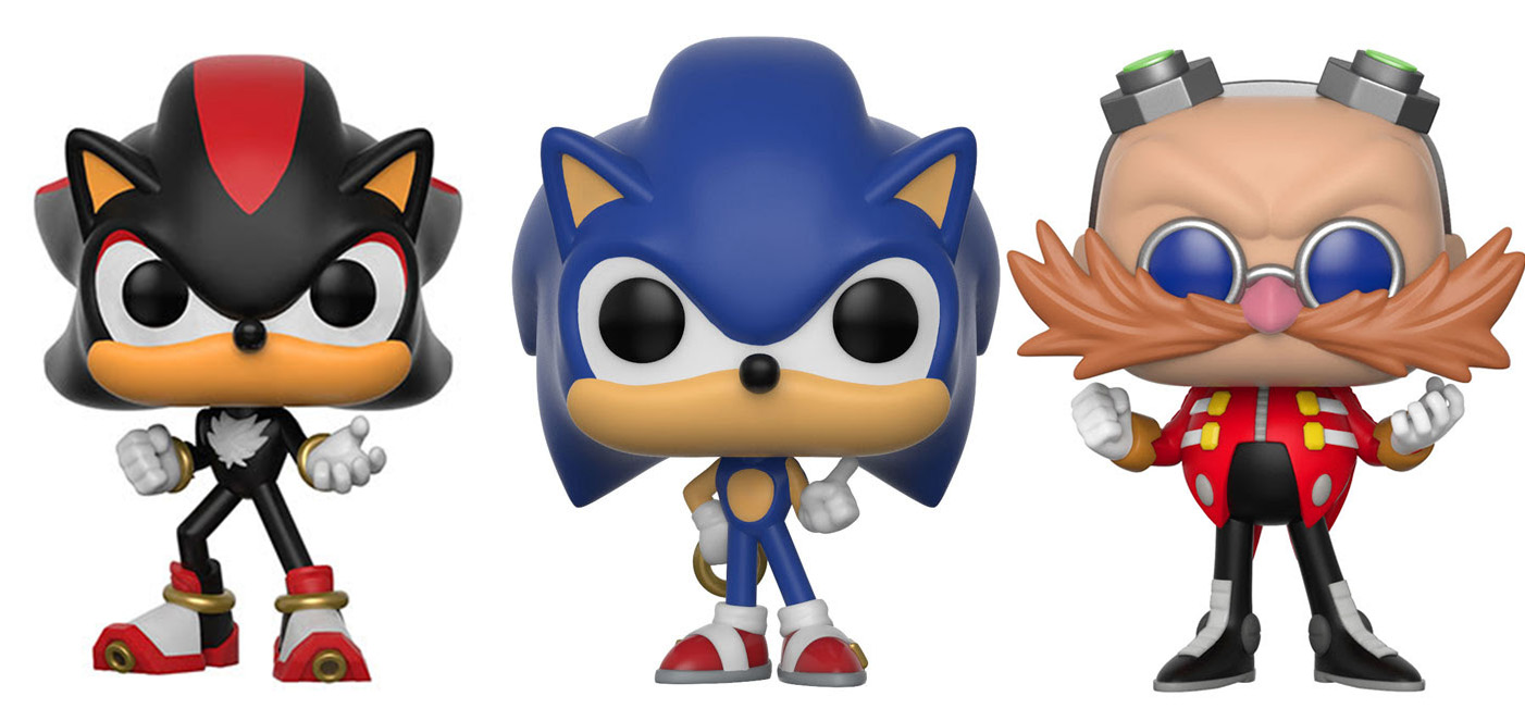 Sonic The Hedgehog Gets The Funko Pop Vinyl Treatment Nerd Reactor