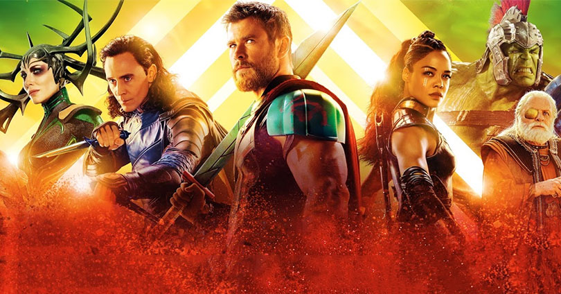 Thor: Ragnarok International Poster Zachary Levi