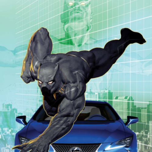 Lexus partners with Marvel's Black Panther on vehicles and graphic novel