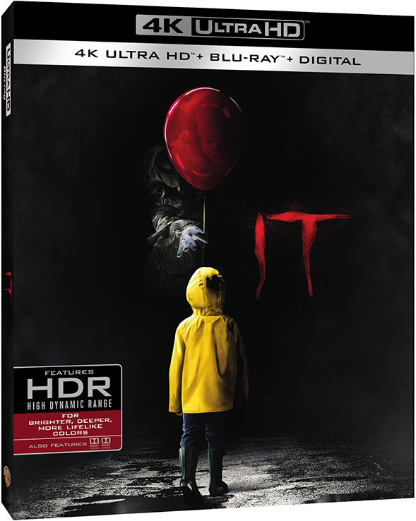 IT 4K Ultra HD Blu-ray Cover